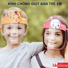 Kính chống giọt bắn trẻ em, Kính chống dịch cho bé 1-10 tuổi đệm mút xốp an toàn tiện lợi cho bé yêu mang khi ra đường BBShine – K023