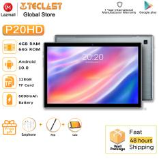 Máy tính bảng P20HD Android 10.0 OS màn hình 10.1 inch 4GB RAM 64GB ROM 1920×1200 pin 6000mAh Teclast – INTL