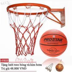 Combo bộ sản phẩm Khung Vành bóng rổ 30, 35, 40cm + quả bóng rổ số 3,5, 6,7 ĐỒ TẬP TỐT