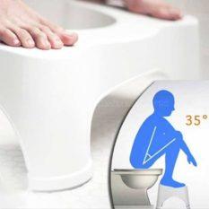 Ghế kê chân toilet giá rẻ chống táo bón -Ghế Kê Chân Toilet.