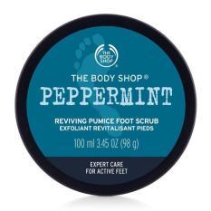 Tẩy tế bào chất chân THE BODY SHOP Peppermint Cooling Pumice Foot Scrub 100ml