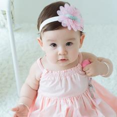 Băng đô cho bé gái sơ sinh mẫu hoa ren xinh xắn nhiều màu