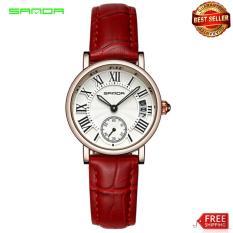 Đồng hồ Sanda nữ dây da tuyệt đẹp