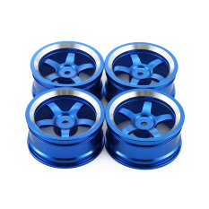 4Pcs Aluminum 52MM Wheel Rims for RC 1/10 On-Road Drift Traxxas HSP Tamiya HPI Kyosho RedCat SAKURA