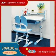 Bộ bàn ghế thông minh mã JD-303L dài 80cm dành cho trẻ em – Bộ Bàn Ghế Học Sinh Chống Gù Chống Cận Hàng Cao Cấp- Bảo Hành 1 Đổi 1