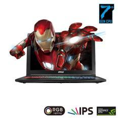 "Laptop Gaming MSI GP62 7RDX Core i7 7700HQ, 8GB, 1TB 15.6"" IPS, Geforce GTX1050 4GB"