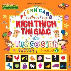 Thẻ Flashcard Dạy Trẻ Theo Phương Pháp Glenn Doman – Kích Thích Thị Giác Cho Trẻ Sơ Sinh 3 Ô Bàn Cờ