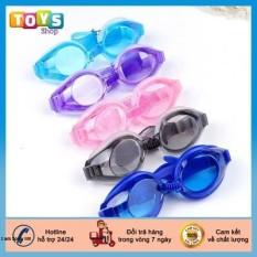 Kính bơi trẻ em, Kính bơi cho bé từ 6 tuổi chất liệu silicon chống nước tốt, giúp mắt thoải mái khi sử dụng