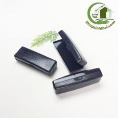 Hộp nhựa đựng mắt kính – hộp nhỏ màu đen – 15 x 5 x 4cm