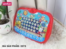 Đồ chơi phát triển ngôn ngữ, giáo dục sớm cho bé Ipad học tiếng Anh thông minh Tiny – Winfun – 2273