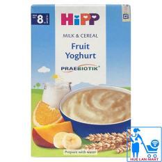 Bột Ăn Dặm Dinh Dưỡng HiPP Fruit Yoghurt (Hoa Quả Nhiệt Đới, Sữa Chua) Hộp 250g (Cho trẻ từ 8 tháng tuổi)