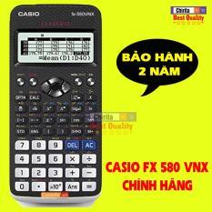 Máy Tính Casio FX 580vnx – Casio Fx 580 VNX Chính Hiệu Cao Cấp – Hàng Có Bảo Hành 2 Năm (Shop có Vinacal 570EX)