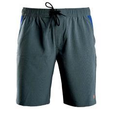 Quần short thể thao nam quần đùi thun nam polyester cao cấp Breli – BQS9009-1M-RTE2 (Xanh kẻ sọc)