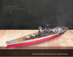 Mô hình lắp ráp 3D kim loại_Chiến hạm Yamato_Battleship Yamato