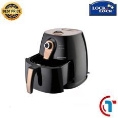 Nồi chiên không dầu Lock&Lock Eco Fryer EJF137FU 3L (1400W) Thiết kế cao cấp, sang trọng – Chiên thực phẩm dễ dàng.