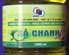 Nước lau sàn đuổi muỗi tinh dầu sả chanh chai 1,5lit Dapharco