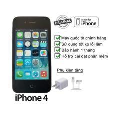 Điện thoại smartphone giá rẻ – I phone IFone 4 – 32gb cảm ứng bản quốc tế – tặng sạc pin khủng