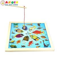 Đồ chơi bảng câu cá đại dương 2 cần câu cho bé