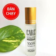 Dưỡng môi dầu dừa organic dạng lăn 10ml
