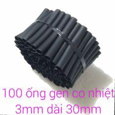 120 ống gen co nhiệt phi 3mm dài 30mm.