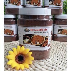 Hộp 500gr Bột cacao Dăk Lăk nguyên chất 100% LOẠI ĐẶC BIỆT