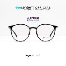 Gọng kính tròn nữ chính hãng EYEKON C02 chất liệu nhựa dẻo chống gãy siêu nhẹ nhiều màu thời trang nhập khẩu by Eye Center Vietnam