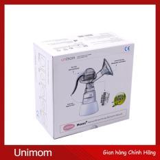 Máy Hút Sữa Tay Unimom Phễu Silicone Massage Kích Sữa Chất Liệu Free BPA (Hãng Phân Phối Chính Thức)