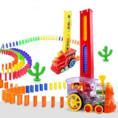Bộ đồ chơi domino xe lửa tàu hỏa cho bé