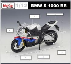 Xe mô hình BMW S1000RR Chính hãng Maitso – Tỉ lệ 1/12