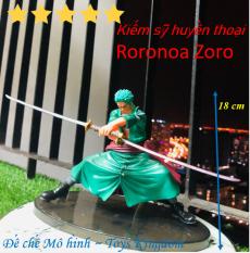 Mô hình Zoro tuyệt chiêu 3 kiếm huyền thoại cực đẹp cao 18cm Mô hình one piece [Giảm thêm 5% đơn 200k Mã LUCKY]