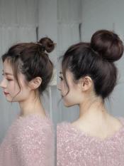 Búi tròn tóc giả
