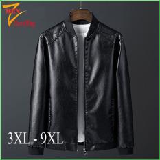 Áo khoác da nam big size, áo da nam size lớn dành cho người mập, người béo