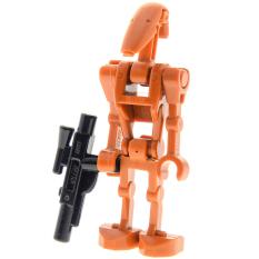 LEGO Minifigures Star Wars Battle Droid Dark Orange without Back Plate