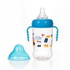 [HCM](Made in Thailand) Bình Sữa Cổ Rộng Có Tay Cầm 125ml / 250ml Disney Baby (DN80133 / DN80132)