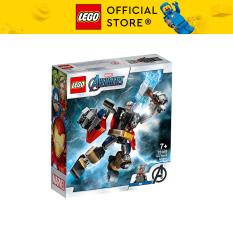 LEGO SUPERHEROES 76169 Chiến Giáp Thần Sấm Thor ( 139 Chi tiết)