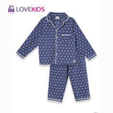 Bộ mặc nhà bé trai – họa tiết rùa Lovekids