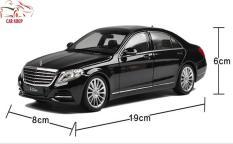 Xe Mô Hình – Mô hình xe Sắt Mercedes-Benz S500 Welly FX tỉ lệ 1:24 màu đen