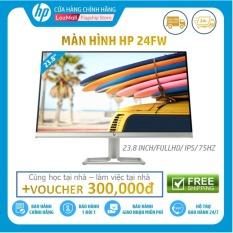 [Voucher 300k]-Màn hình HP 24fw (23,8 Inch/FULLHD/75Hz/5Ms/IPS/3KS63AA) – Hàng Chính Hãng
