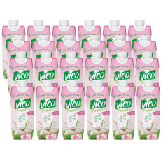 Thùng 24 hộp 330 ml Nước dừa sen Vico Fresh
