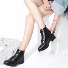 (Giá sốc kèm video) Giày nữ, Boot dây siêu đẹp (Antony Store)