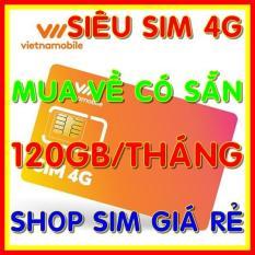 SIM 4G Vietnamobile Tặng 120GB/tháng – Siêu Sim 4G Vietnamobile 4GB/ngày – Shop Sim Giá Rẻ
