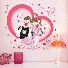 Decal dán tường cặp đôi hạnh phúc XL 7203