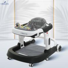Xe tập đi cho bé đa năng Chilux Walk S, ưu điểm vượt trội so với xe tập đi tròn, bảo hành chính hãng 2 năm