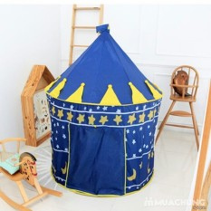Lâu đài công chúa, hoàng tử cho bé trai và bé gái thỏa sức sáng tạo, vui đùa, Lều cắm trại, du lịch chơi đùa tại nhà cho bé trai và bé gái giúp trẻ em tăng khả năng vận động, cho hệ miễn dịch tốt hơn