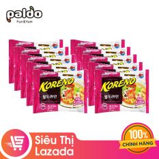 [Siêu thị Lazada] Combo 10 gói Mì KORENO Tôm 100GR (10 gói x 100g) – hương vị đậm đà an toàn vệ sinh thực phẩm