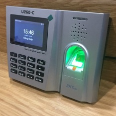 Máy chấm công vân tay & thẻ cảm ứng ZKteco U260-C