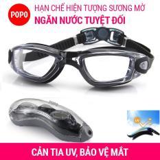 Kính bơi người lớn POPO 1938 kính bơi nam, nữ chống tia UV, chống lóa mắt kính trong suốt kiểu dáng thời trang cao cấp