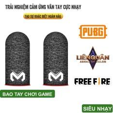 VINETTEAM Bao/Găng tay chơi game MEMO chống mồ hôi Sợi Carbon, siêu nhạy, siêu co dãn Cho pubg FF, tốc chiến