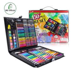 Hộp bút màu 150 chi tiết cho bé yêu thỏa sức sáng tạo, thiết kế gọn gàng thông minh tiện lợi, dễ dàng sử dụng