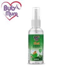 Nước rửa tay khô dạng xịt chiết xuất Trầu Không 50ml BuB&MuM sạch khuẩn, dịu nhẹ da tay cho bé
